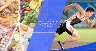 Pentingnya kebutuhan nutrisi untuk atlet