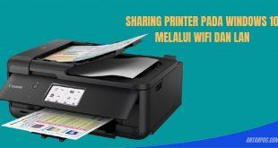 Sharing printer mengguanakan WIFI dan LAN